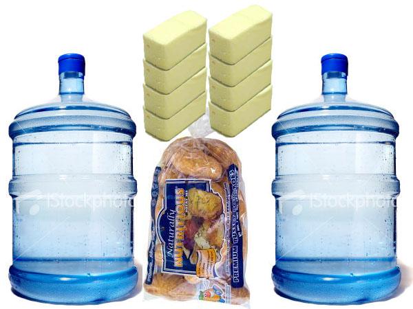 Water Cooler Jug, Potatoes, butter - 98lbs
